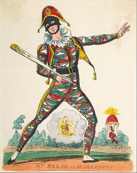 476px-Marks,_J.L._-_theatrical_portrait_-_Mr_Ellar_as_Harlequin_-_Google_Art_Project